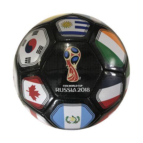 ballon de football coupe du monde de la fifa russie 2018 noir walmart canada. Black Bedroom Furniture Sets. Home Design Ideas