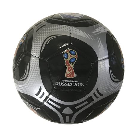 fifa 2018 world cup russia logo soccer ball black silver walmart