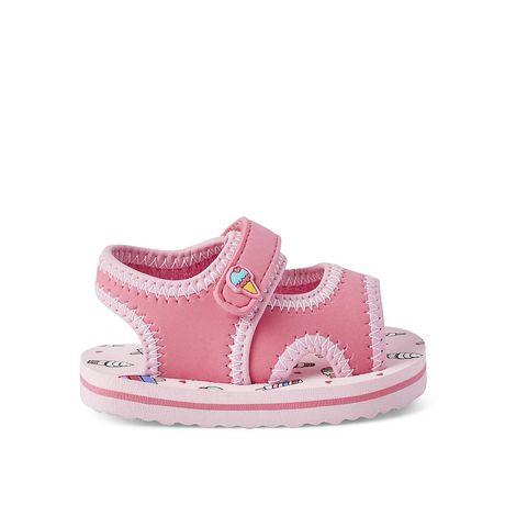 George Baby Girls' Splash Sandals - image 1 of 4