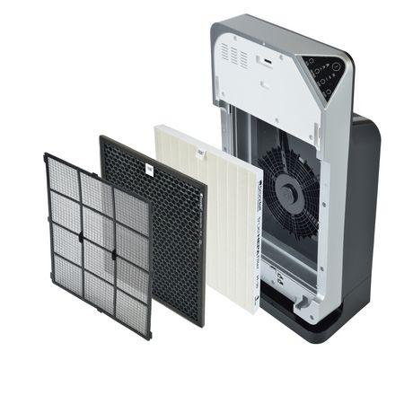Brondell O2+ Pack de filtres de remplacement du purificateur « True HEPA » et au charbon activé granulaire, - image 3 de 3