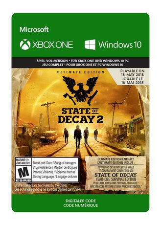 Xbox One State of Decay 2: Ultimate Edition (Pre-Purchase/Launch Day) [Download] - image 1 of 1