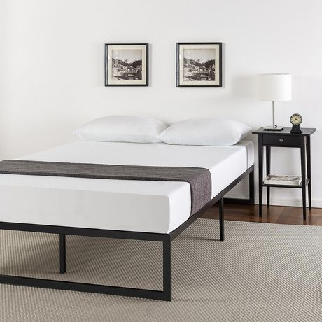 Zinus 14 Inch Metal Platform Bed Frame with Steel Slat Support / Mattress Foundation - image 1 of 6