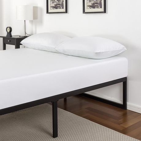 Zinus 14 Inch Metal Platform Bed Frame with Steel Slat Support / Mattress Foundation - image 2 of 6
