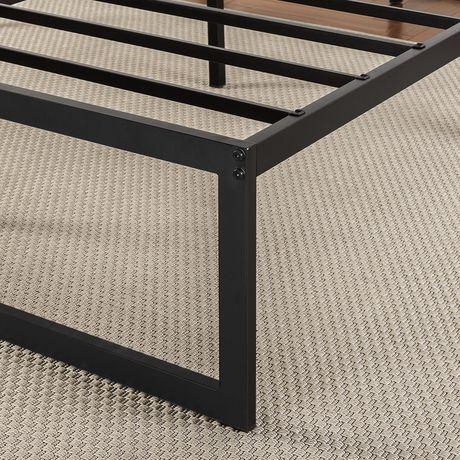 Zinus 14 Inch Metal Platform Bed Frame with Steel Slat Support / Mattress Foundation - image 5 of 6