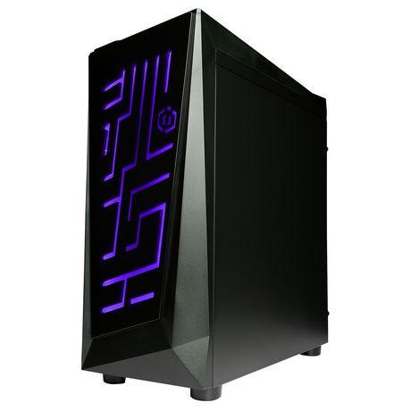 CyberPowerPC - Ordinateur de bureau Xtreme - Intel i5-8600K - 8 Go de mémoire - AMD Radeon RX 580 - Disque dur SSD de 120 Go + 1 To - image 5 de 6
