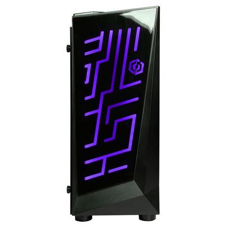 CyberPowerPC - Ordinateur de bureau Xtreme - Intel i5-8600K - 8 Go de mémoire - AMD Radeon RX 580 - Disque dur SSD de 120 Go + 1 To - image 2 de 6