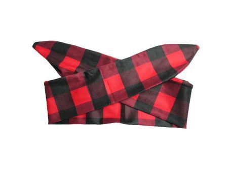f9f45dc225d68 Baby Wisp - Top Knot Headband Canadiana Red And Black 3m+ | Walmart ...