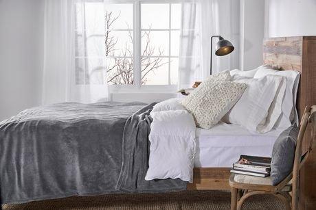 couverture chauffante en micro peluche pour lit 1 place de sunbeammd walmart canada. Black Bedroom Furniture Sets. Home Design Ideas