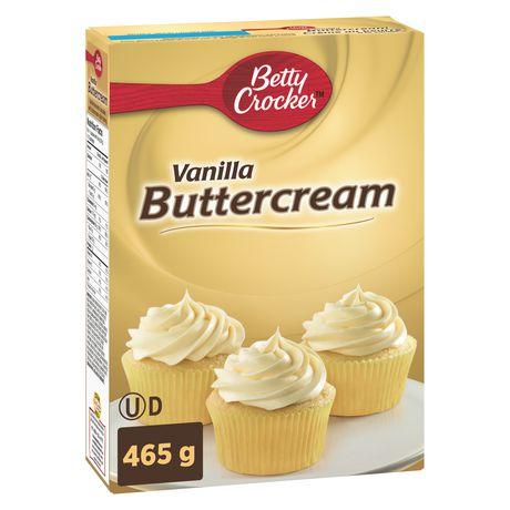 Betty CrockerTM Vanilla Buttercream Cupcake Mix