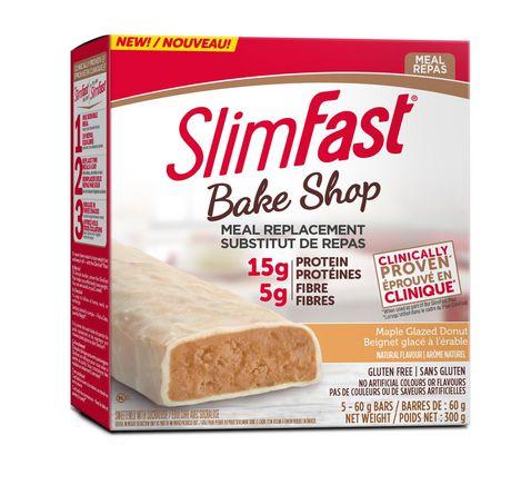 slimfast bakeshop substitut de repas beignet glace a l 39 erable walmart canada. Black Bedroom Furniture Sets. Home Design Ideas