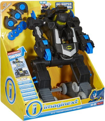 Fisher-Price Imaginext DC Super Friends RC Transforming Batbot - image 5 of 8