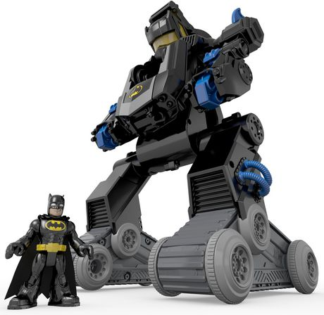 Fisher-Price Imaginext DC Super Friends RC Transforming Batbot - image 7 of 8