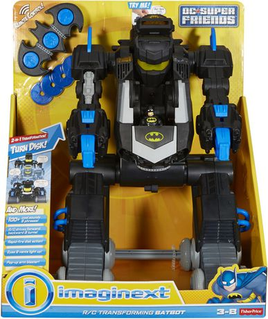 Fisher-Price Imaginext DC Super Friends RC Transforming Batbot - image 8 of 8