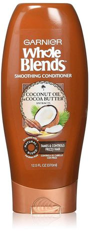 Garnier Whole Blends Coconut Oil & Cocoa Butter Smoothing Conditioner - image 1 of 6