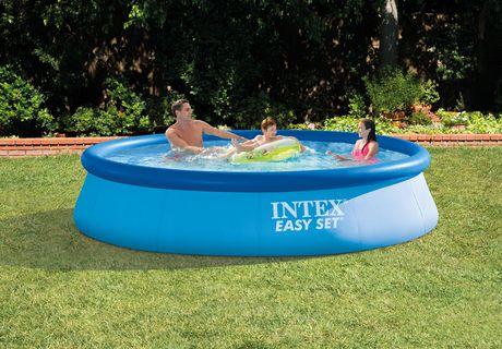 Intex Development Co Ltd Intex 12 X 30 Quot Easy Set Above Ground Pool With Filter Pump Walmart Canada