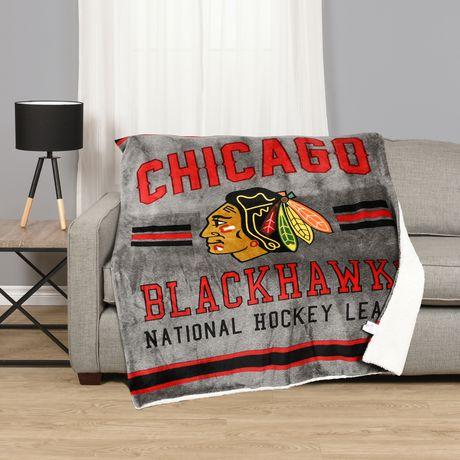 timeless design a1002 2a3e0 NHL Team Throw- Chicago Blackhawks