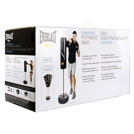 Everlast Cardio Fitness Training Bag Black