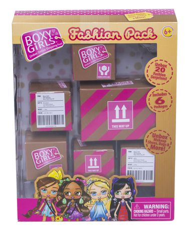 Boxy Girls Fashion Pack - image 1 of 1