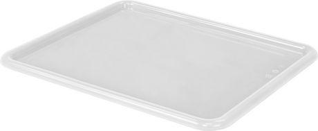 Storex couvercles pour plateau de rangement format lettre, 10 x 13 pouces, clairs, paquet de 5 - image 1 de 1