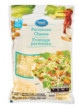 Great Value Parmesan Cheese - image 1 of 2