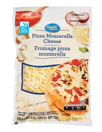Great Value Shredded Pizza Mozzarella Cheese - image 1 of 2