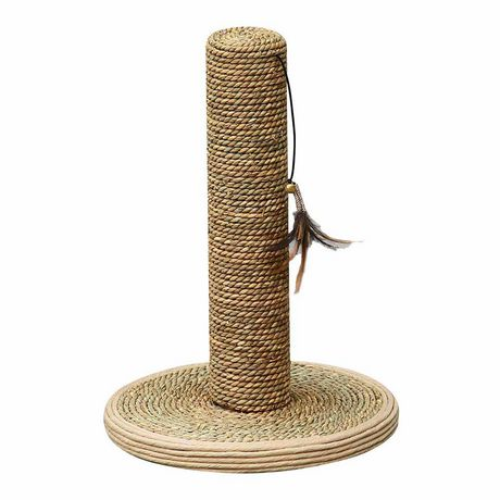 Petpals Group Seagrass Scratching Post With Toy - image 1 of 1
