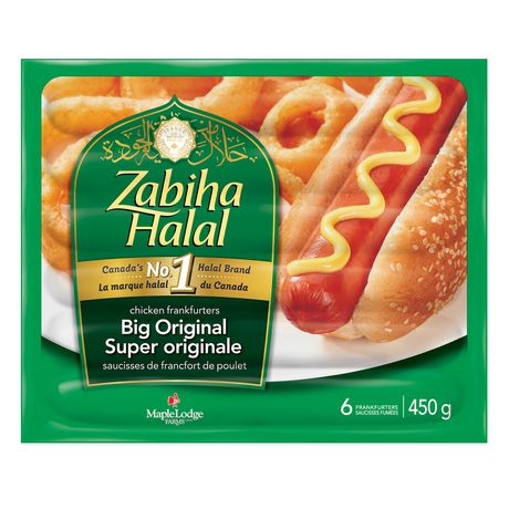 Zabiha Halal Big Original Chicken Frankfurters