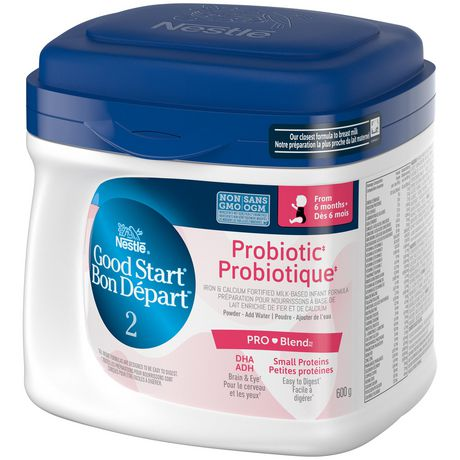 NESTLÉ GOOD START Probiotic with PRO-Blend Stage 2 Baby Formula - image 3 of 6