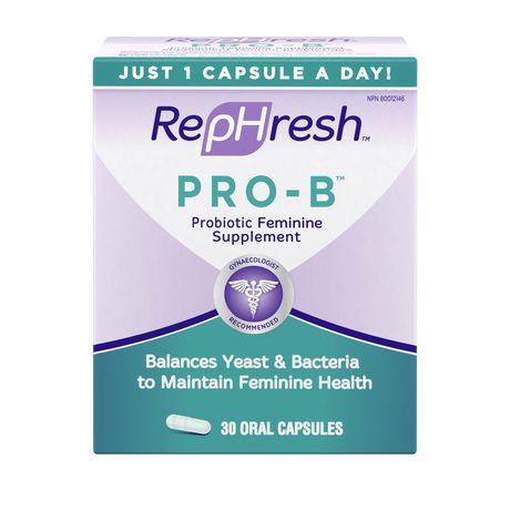 Supplément féminin probiotique Pro-B de RepHresh - image 1 de 1