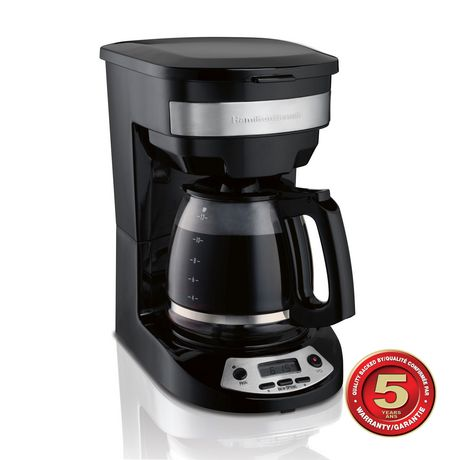 Hamilton Beach 12 Cup Programmable Coffee Maker | Walmart ...