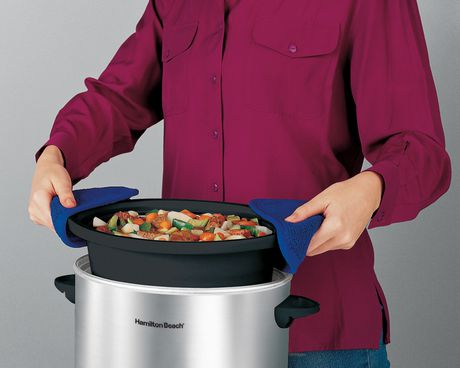Hamilton Beach 4 Quart Oval Slow Cooker 33140VCR - image 3 of 3