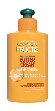 Garnier Fructis, Triple Nutrition Butter Rich Leave-In, 300 ML - image 1 of 1
