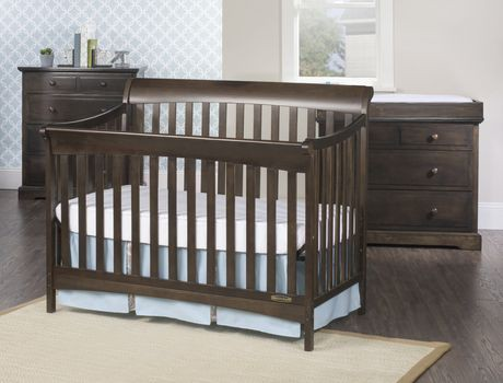 lit de b b convertible 4 en 1 ashton de child craft gris walmart canada. Black Bedroom Furniture Sets. Home Design Ideas