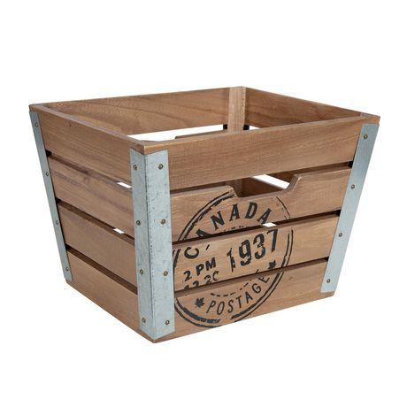 Caisse en bois - image 1 de 6