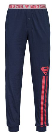 Warner Brothers Superman sleep jogging pants for men - image 3 of 4