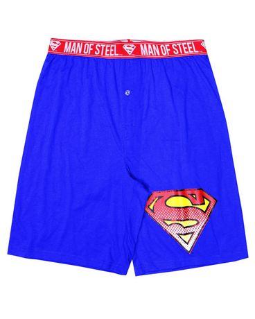 Warner Brothers Superman sleep shorts for men - image 1 of 1