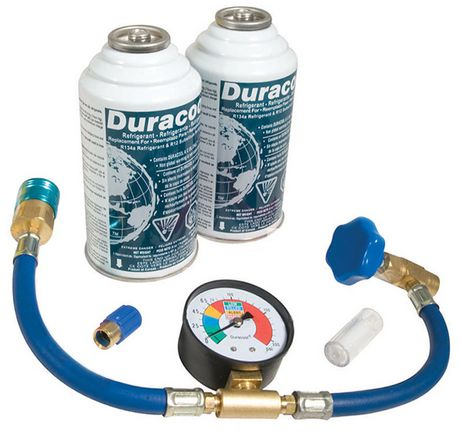 Duracool Universal Mobile Air Conditioning Recharge Kit