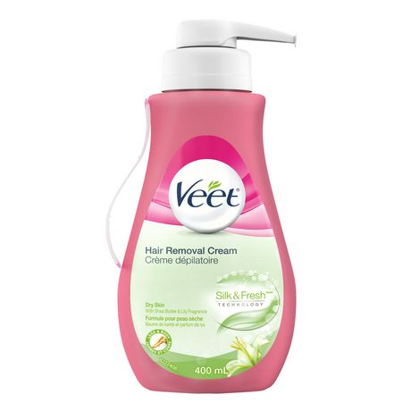 Veet® Hair Removal Cream Silky Fresh™ Legs & Body Dry Skin (Packaging May Vary) - image 1 of 2