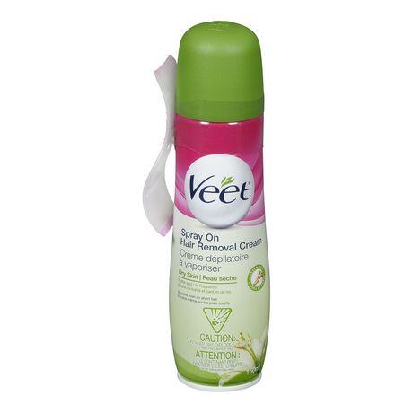Veet Spray On Hair Removal Cream Dry Skin Packaging May Vary