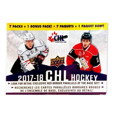 17 18 Upper Deck Chl Hockey Value Box 8ct Trading Cards Walmart Canada