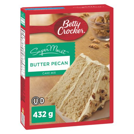 Mélange à Gâteau SuperMoist Pacanes au beurre de Betty Crocker - image 1 de 8