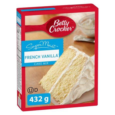 Betty Crocker SuperMoist French Vanilla Cake Mix | Walmart ...