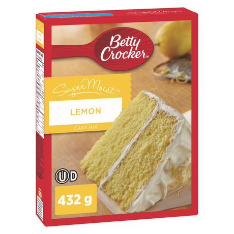 Betty Crocker Lemon Pound Cake
