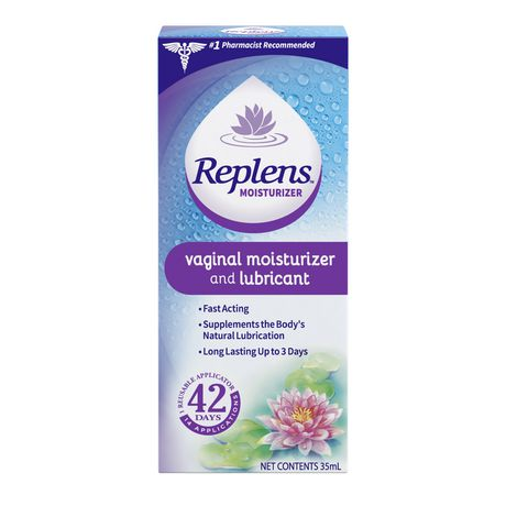 Replens internal vaginal moisturizer lubricants