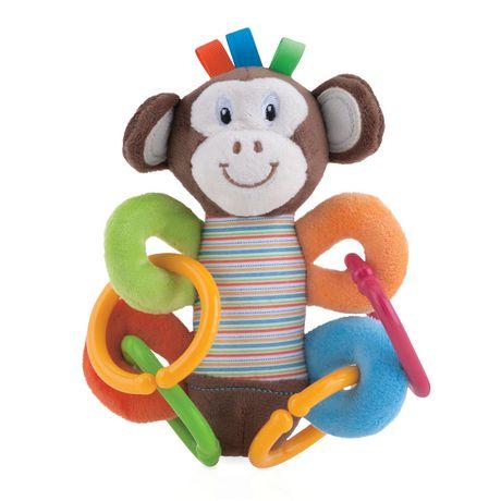 Nuby Squeeze N' Squeak Monkey - image 1 of 1