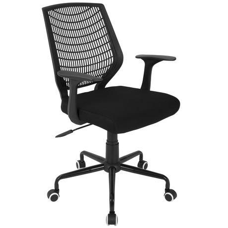chaise de bureau contemporaine network de lumisource. Black Bedroom Furniture Sets. Home Design Ideas