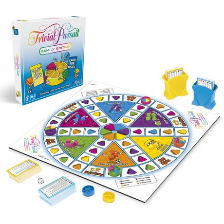 Hasbro Gaming Trivial Pursuit Family Edition Game - image 2 of 3