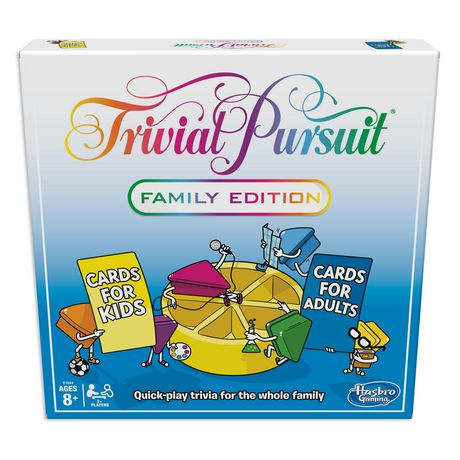 Hasbro Gaming Trivial Pursuit Family Edition Game - image 1 of 3