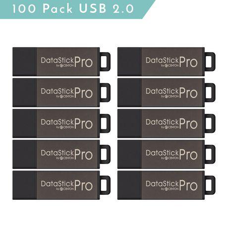 Centon Valuepack USB 2.0 Datastick PRO (grey), 2GB, 100 Pack - image 1 of 1