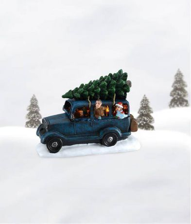 Holiday Time Tree Delivery Multi-Color